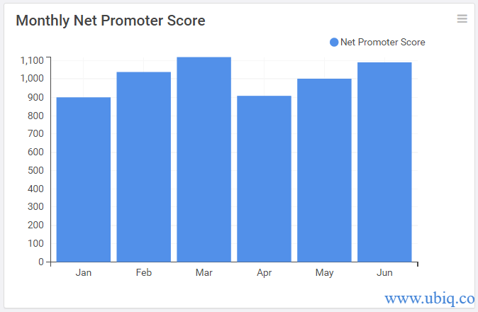 monthly net promoter score