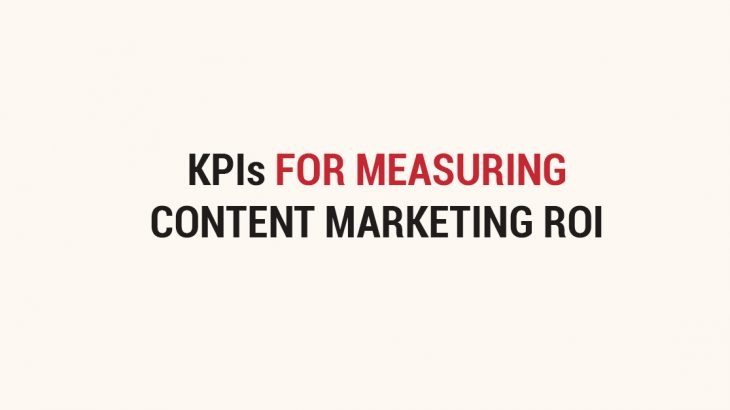 top content marketing kpis metrics