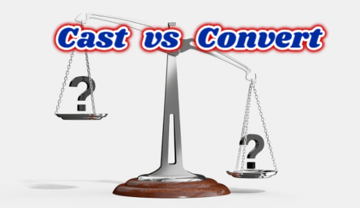 mysql cast vs convert