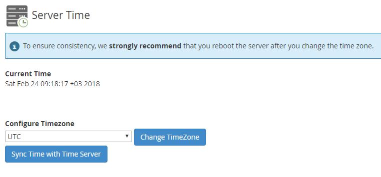 set mysql server time zone