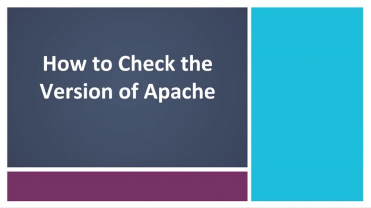 find apache version in linux