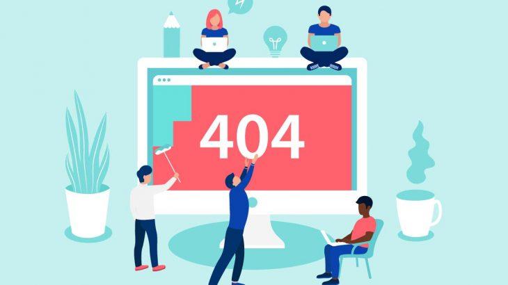 make custom 404 page