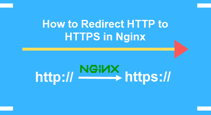 how to redirect http to https in nginx