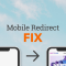 redirect users to mobile website